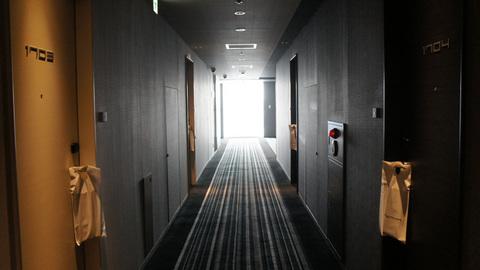 レム秋葉原の廊下