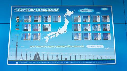 日本の観光タワー一覧