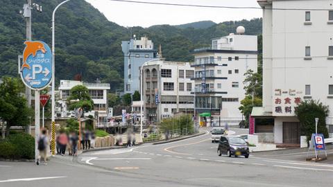 三津シー前からの眺め
