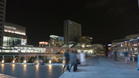 UDX前の夜景