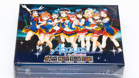 Aqours 2nd LoveLive! HAPPY PARTY TRAIN TOUR Blu-ray Memorial BOX