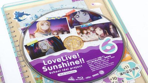 「ラブライブ!サンシャイン!! 2nd Season」Bly-ray第6巻