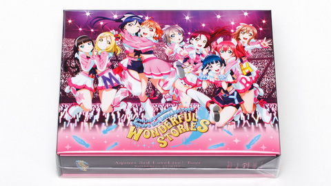 「Aqours 3rd LoveLive! Tour ~WONDERFUL STORIES~ Blu-ray Memorial BOX」